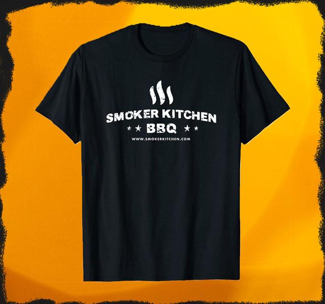Smoker Kitchen BBQ T-Shirt für Damen und Herren