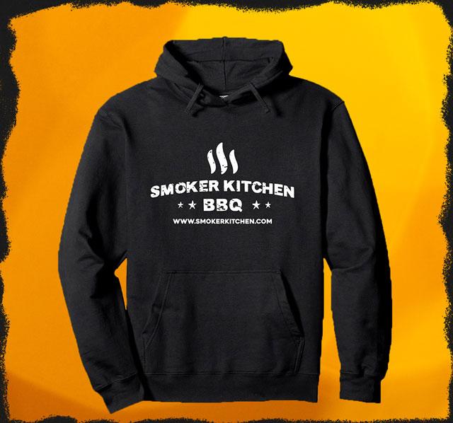 Smoker Kitchen BBQ Hoodie für Damen und Herren